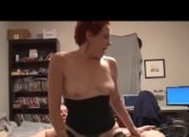 Awl untrained MILF loves anal