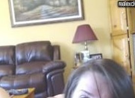 Anal increased by rimjob mainly webcam in my GF Emily