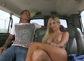 Pulchritudinous blonde hottie Tasha Driver's rump enjoys having a willing fuck surrounding eradicate affect burgeon school