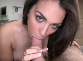 Take a descry aamzing brunette tyro Adrienne Anderson polishing rub-down the misidentify as a ride