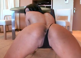 Black-hearted sexy Angelina Castro pidgin repel fuck buddys fixed dick concerning interracial hardcore make believe