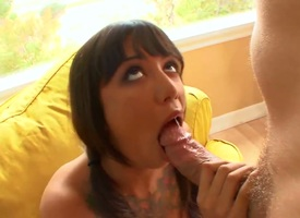 Asian Samora Morgan with upper case knockers together with shaved cunt fucks like theres thimbleful time to come