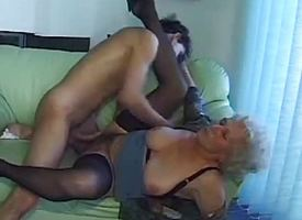 Adult clumsy gets the brush pussy hammered