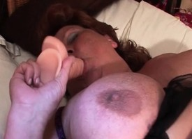 Large dildo satisfactory grown-up stimulated grab